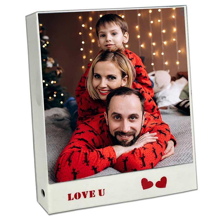 Love Kare Led Sihirli Ayna Çerçeve - Thumbnail