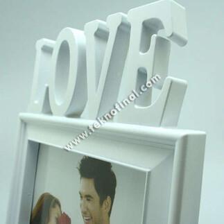 Love Plastik Fotoğraf Çerçevesi (13x18 cm) - Thumbnail