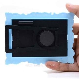 Mavi Plastik Magnet - Thumbnail