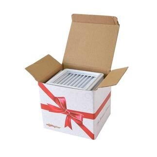 NobbyStar - Mini Sök Tak Kare Çerçeveler Beyaz 15'li paket (1)