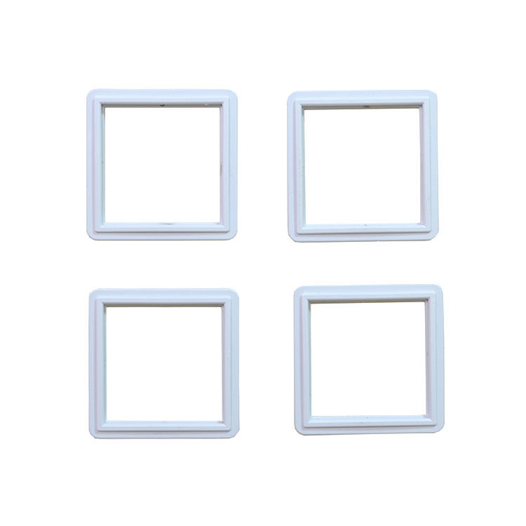 Mini Sök Tak Kare Çerçeveler Beyaz 15'li paket