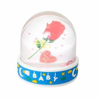 NobbyStar Hediye - Müzikli Baby Yazılı Işıklı Kar Küresi (1)