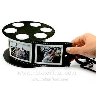 Fotoğraflı Film Şeridi Makara Fotoğraf Albümü - Thumbnail