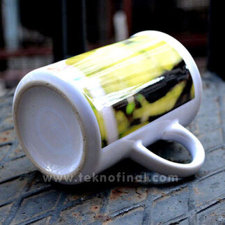Porselen Windsor Beyaz Kupa - Kutulu - Thumbnail