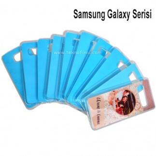 Silikon Samsung Galaxy Serisi Telefon Kılıf Kapakları - Thumbnail