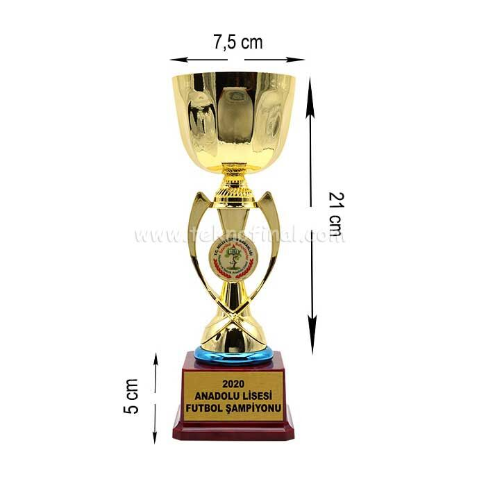 Sublimasyon Ödül Kupası 26 cm