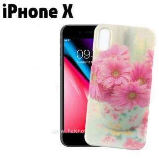 3D Sublimasyon iPhone X Telefon Kapağı - Thumbnail