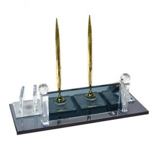 NobbyStar - Sublimasyon Kristal Masa İsimliği - Altın (1)