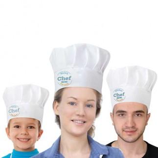 Sublimasyon Aşçı Şapkası - Thumbnail