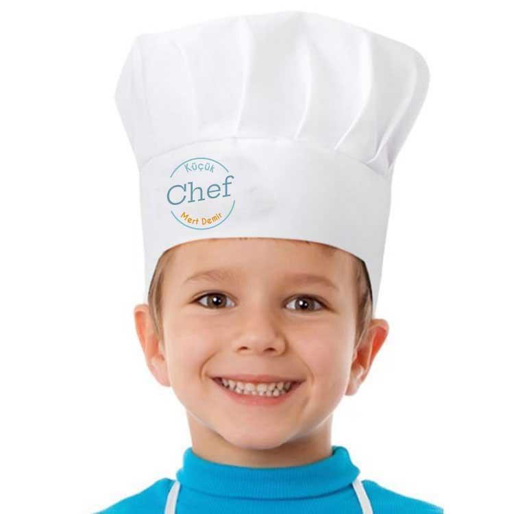 Sublimasyon Aşçı Şapkası