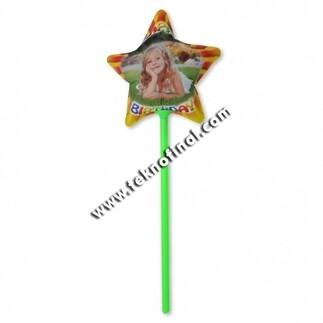 A4 Inkjet Sublimasyon Yıldız Balon - Thumbnail