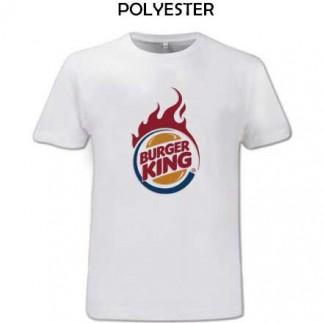 Sublimasyon Çocuk-Yetişkin Micro Polyester Sıfır Yaka T-Shirt - Thumbnail