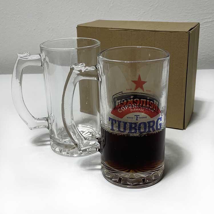 Süblimasyon Çift Şeffaf Bira Bardağı