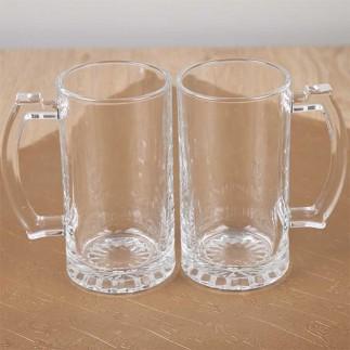 Süblimasyon Çift Şeffaf Bira Bardağı - Thumbnail