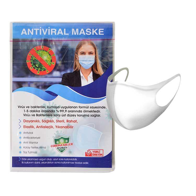 Sublimasyon Çocuk Lazer Kesim Maske+Broşür+Poşet