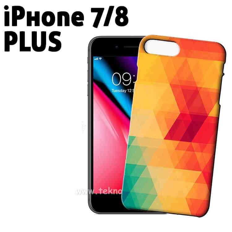 3D Sublimasyon iPhone 7/8 Plus Telefon Kapağı