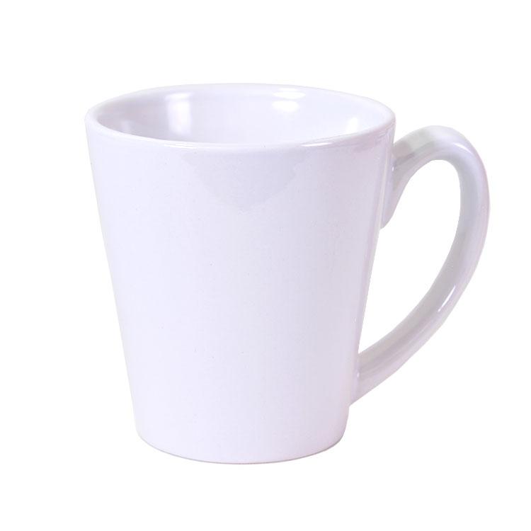 Sublimasyon Porselen Konik Beyaz Kupa
