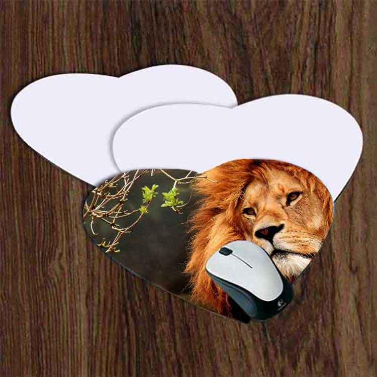 Sublimasyon Kalp Mouse Pad (2 mm)
