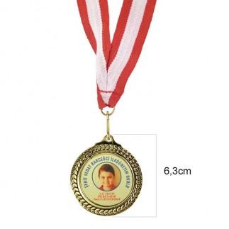 Best Hediye - Sublimasyon 6,3cm. Klasik Madalyon (1)