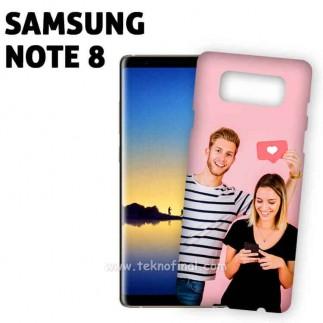 3D Sublimasyon Samsung Note 8 Mat Telefon Kapağı ve Kılıfı - Thumbnail
