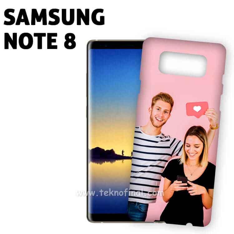 3D Sublimasyon Samsung Note 8 Mat Telefon Kapağı ve Kılıfı