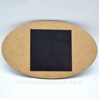 - Sublimasyon 9x14 Oval Ahşap Magnet (1)