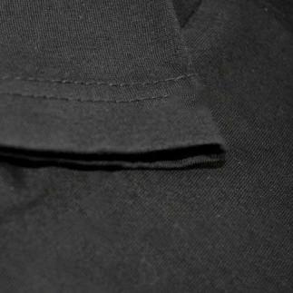 Sublimasyon Çocuk-Yetişkin Siyah Pamuklu Tişört - Thumbnail