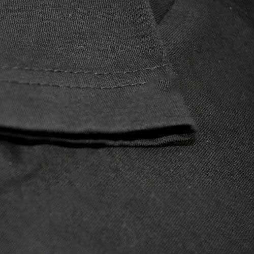 Sublimasyon Çocuk-Yetişkin Siyah Pamuklu Tişört
