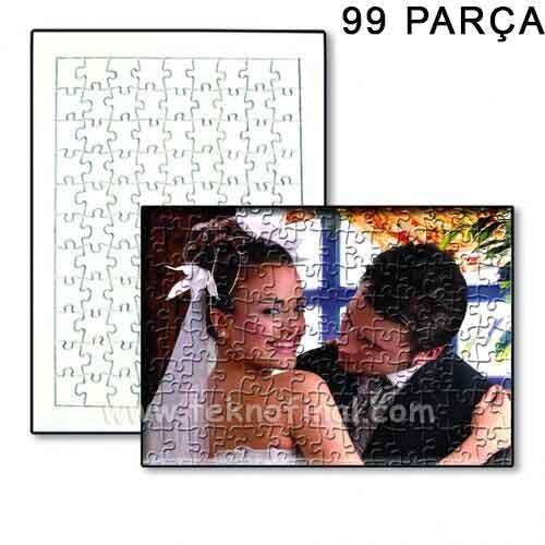 Sublimasyon 99 Parça A4 Pazıl, Puzzle