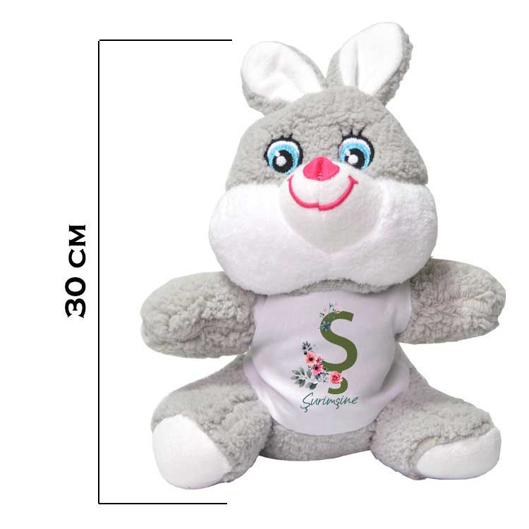 Sublimasyon Peluş Tavşan