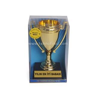 Best Hediye - Sublimasyon Şampiyon Kupası 17,5 Cm (1)