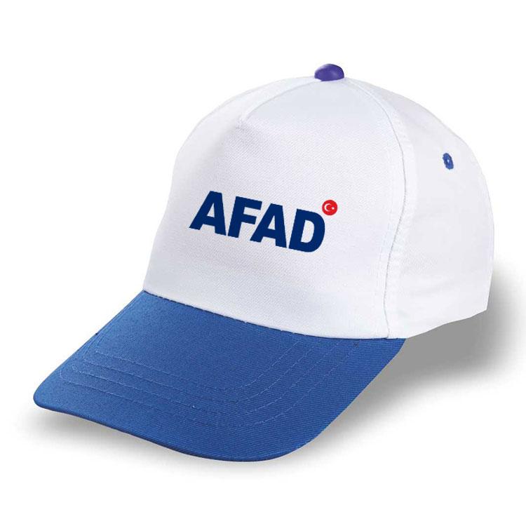 Sublimasyon Mavi Siperli Şapka