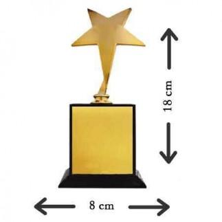 Sublimasyon Gold - Altın Yıldız Oskar - Thumbnail
