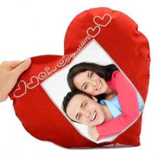 Sublime Seni Seviyorum Kalp Yastık - Thumbnail