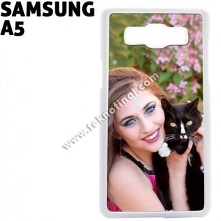 SAMSUNG - Beyaz Sublimasyon Samsung A5 Kapak