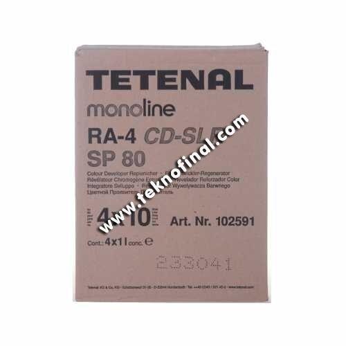 Tetenal CD-SLR SP80ML. 4X10L