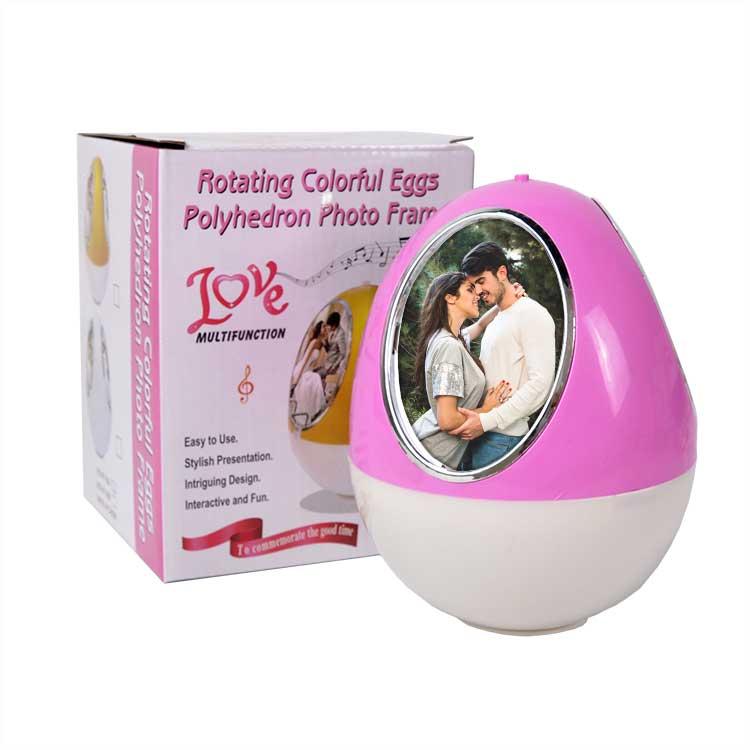 Hareketli Pembe Yumurta Fotoğraf Çerçevesi