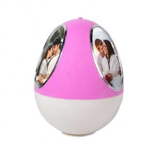 Hareketli Pembe Yumurta Fotoğraf Çerçevesi - Thumbnail