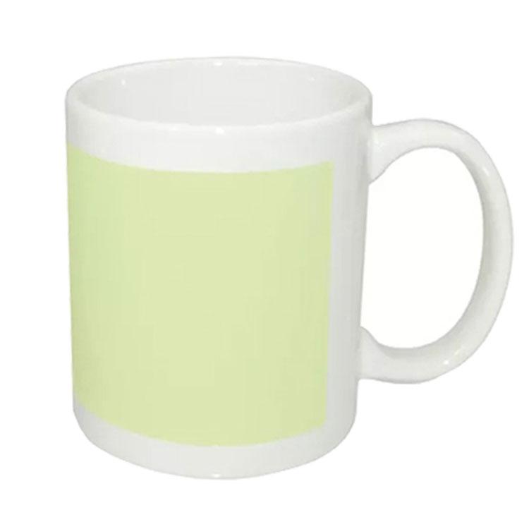 Toptan Porselen Fosforlu Beyaz Kupa Bardak - Kutulu