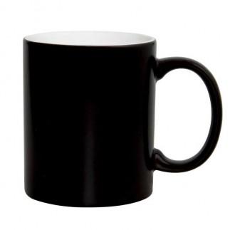 Sublimasyon Siyah Sihirli Parlak Porselen Kupa - Kutulu - A Grade - Thumbnail