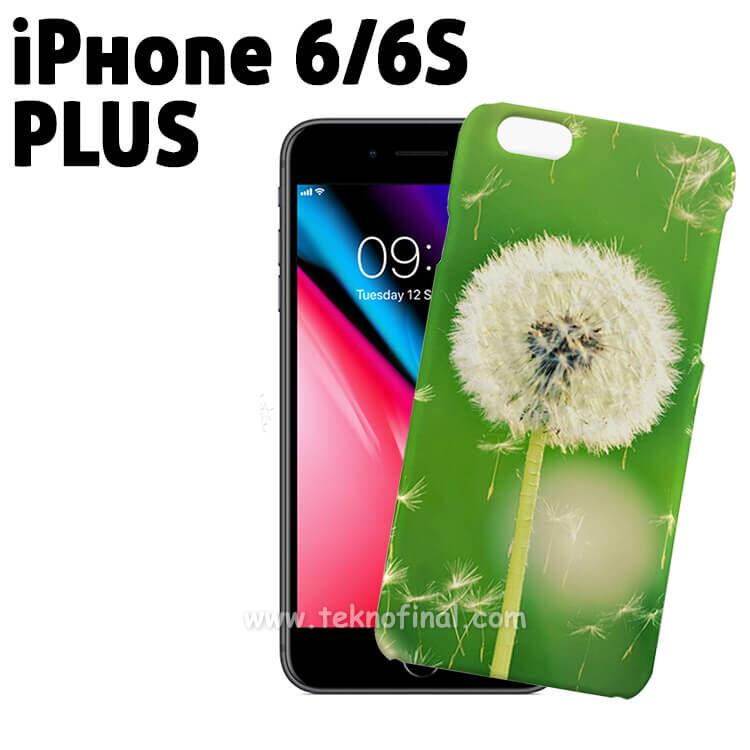 3D Sublimasyon iPhone 6 Plus / 6S Plus Telefon Kılıf Kapağı