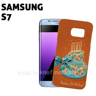 SAMSUNG - 3D Sublimasyon Samsung S7 Telefon Kapağı
