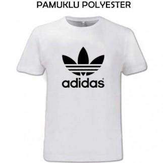 Sublimasyon Exclusive Pamuk Polyester Sıfır Yaka T-shirt - Thumbnail