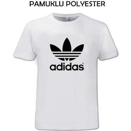 Sublimasyon Exclusive Pamuk Polyester Sıfır Yaka T-shirt