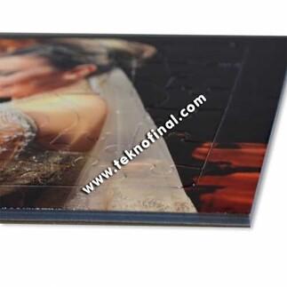 Sublimasyon 48 Parça Love Motifli A4 Puzzle, Pazıl - Thumbnail