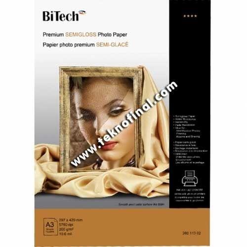 Bitech A3 Yarı Mat Inkjet Fotoğraf Kağıdı