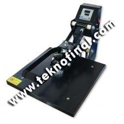 Yarı Otomatik 40x50 Düz Sublimasyon Transfer Baskı Makine Presi
