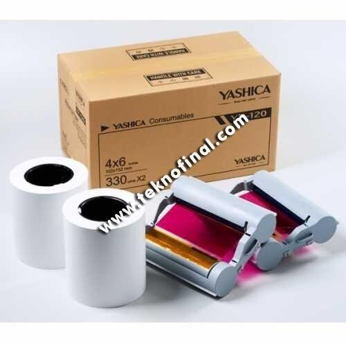 Yashica YP120 ve HiTi P510 15X20 Media